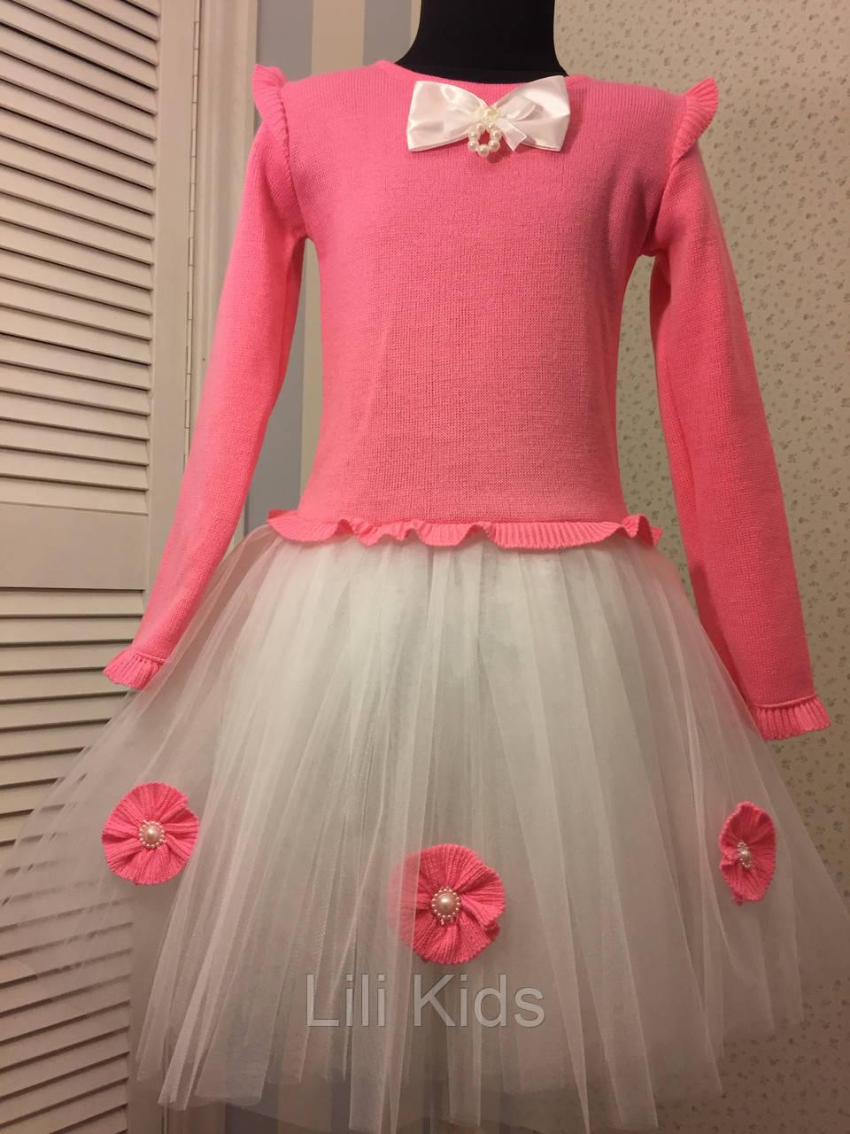 Платье для девочки 134 размер