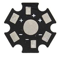 """Радиатор подложка для светодиода типа """"звезда"""""""