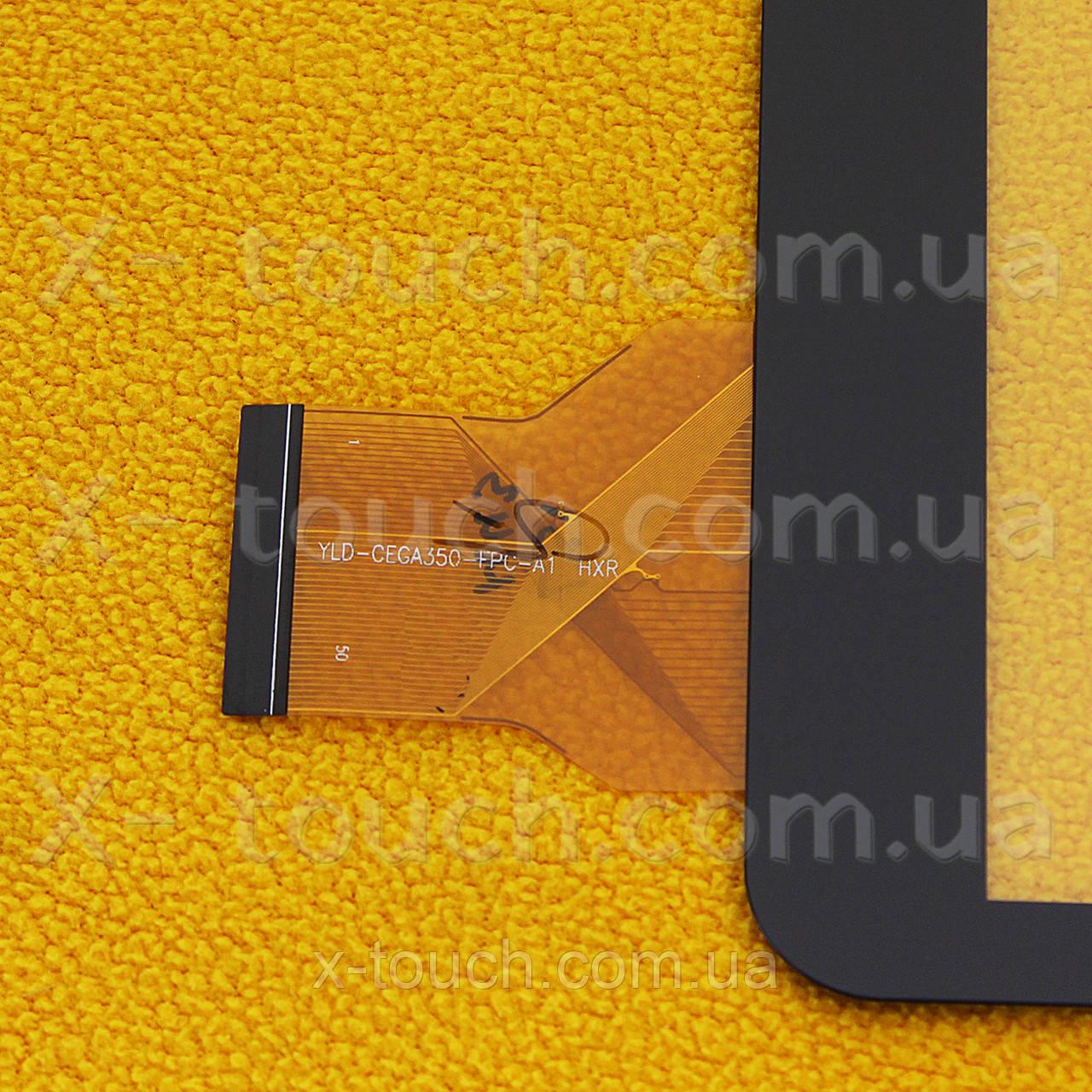 Тачскрин, сенсор  YLD-CEGA350-FPC-A1 HXR для планшета