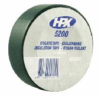 Изоляционная лента 19mm x 33m, черная ПВХ 5200 (HPX)