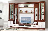 Мебель для гостиной Онтарио 3, стенка в гостинную комнату 3200х2200х600