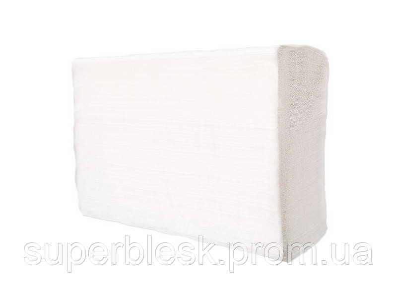 PRO service полотенца бумажные в листах Z-сложение, 1 сл.
