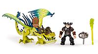 Набор Spin Master DragonsВсадник Сморкала и дракон Кривоклык в зеленом окрасе (SM66594-8)