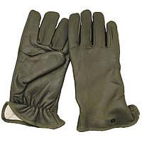 Перчатки кожаные с подкладкой, оригинал армии Франции, 8-8,5, новые