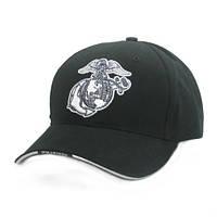 "Бейсболка черная  ""GLOBE & ANCHOR"" GLOBE & ANCHOR LOW PROFILE CAP"