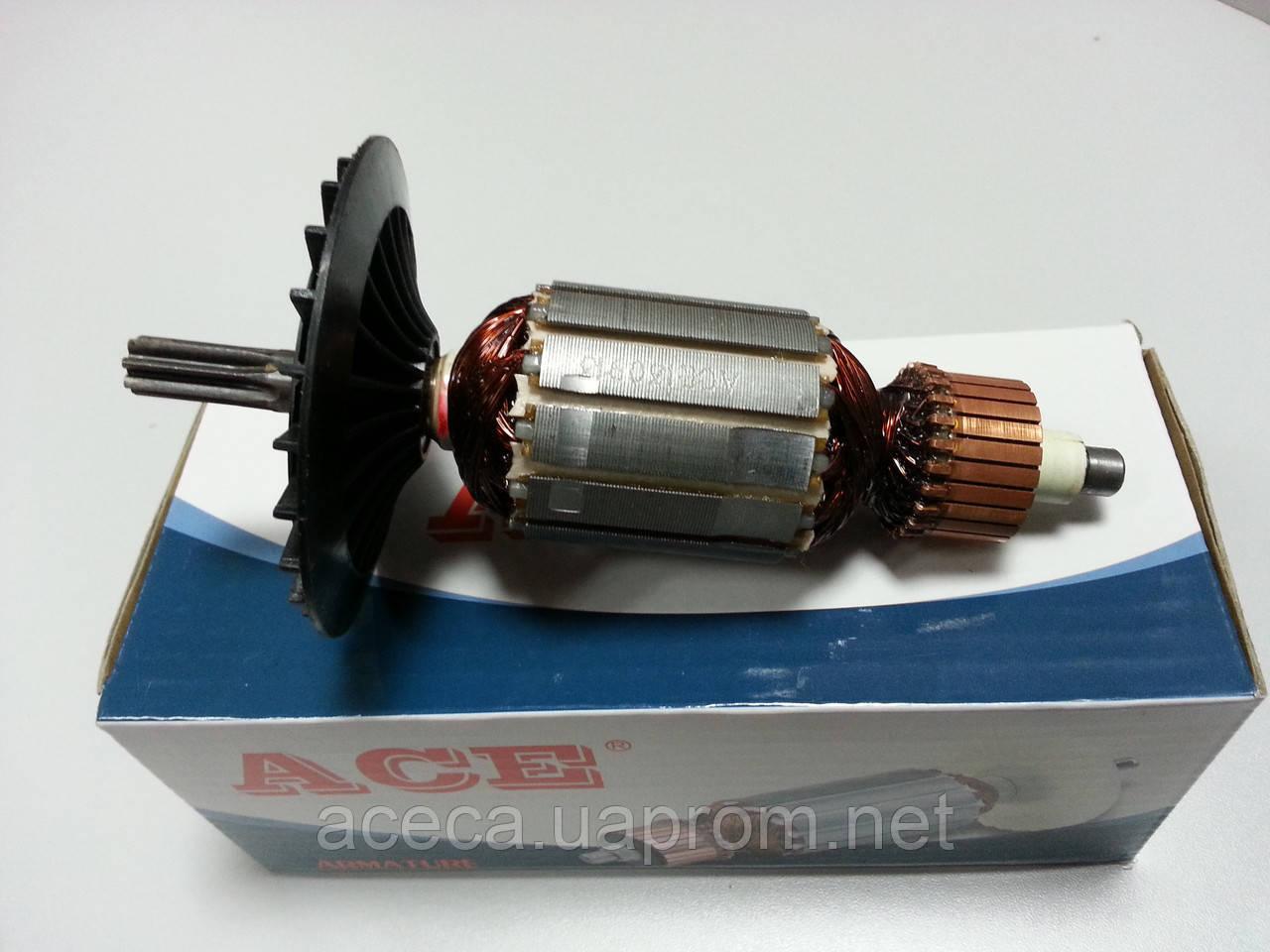 Якорь (ротор) для дрели Интерскол  Д 1050.(158 *41/ 7-з прямо) - интернет магазин ACECA в Одессе