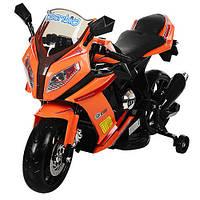 Детский мотоцикл Bambi M 2769 EL-7 оранжевый