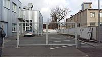 Ворота металлические из сетки