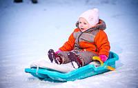 Детские санки снегоходы