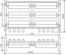 Блоки резисторов крановые Б6 (БФ6)  ИРАК 434.332.004-хх, фото 2