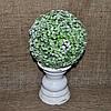"Топиарий ""Незабудка"" (шар) 18 см салатовая пластиковая GAHY-39"