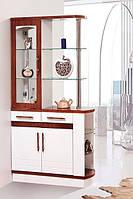 Барная стойка для гостинной Браво 2, барный шкаф для гостиной 1000*1985*390