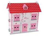 Игровой кукольный домик + 4 куклы