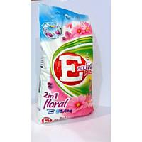 Стиральный Порошок E Active Plus 2В1 Floral 5.6Кг