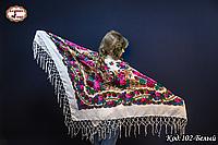 Украинский белый платок Королева, фото 1