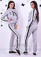 Женский спортивный костюм с начесом и накатом