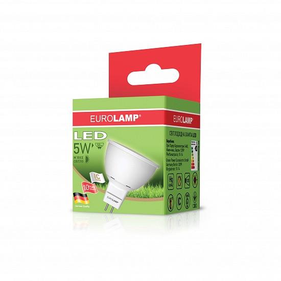 "EUROLAMP LED Лампа ЕКО серія ""D"" SMD MR16 3W GU5.3 4000K"