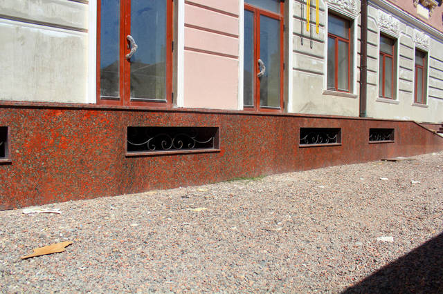 Цоколь и две входные группы (Одесса) 11