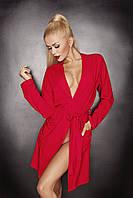 Ines DK халат S, красный