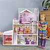 Мега большой игровой кукольный домик для барби 4108wg Beverly + гараж 124см!