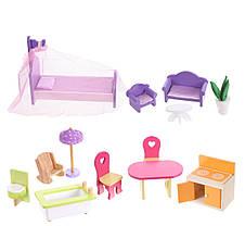 Мега большой игровой кукольный домик для барби 4108wg Beverly + гараж 124см!, фото 2
