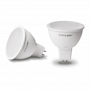 "EUROLAMP LED Лампа ЕКО серія ""D"" SMD MR16 5W GU5.3 4000K, фото 2"