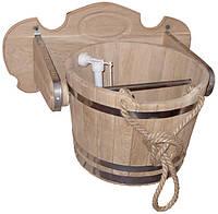 Водопад для бани из дуба 25 литров