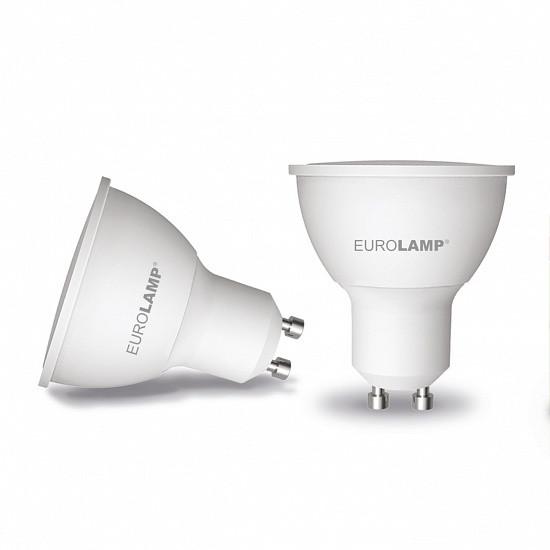 "EUROLAMP LED Лампа ЕКО серія ""D"" SMD MR16 5W GU10 4000K (200)"