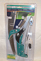 Идеальный сучкорез с ножовкой садовой для работы в саду, на даче, предназначен для удаления ветвей и побегов