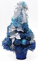 Ёлка в горшке, цвет: голубой 40 см