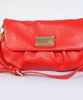 Женская сумка MARC BY MARC JACOBS CLASSIC Q LINDA CLUTCH RED (4599), фото 1