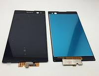 Оригинальный дисплей (модуль) + тачскрин (сенсор) для Sony Xperia C3 D2502 | D2533 | S55t | S55u (черный цвет)