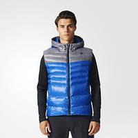 Утепленный жилет с капюшоном Adidas BP9407 мужской - 17