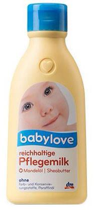 Молочко для тела Babylove с миндальным маслом 250мл, фото 2