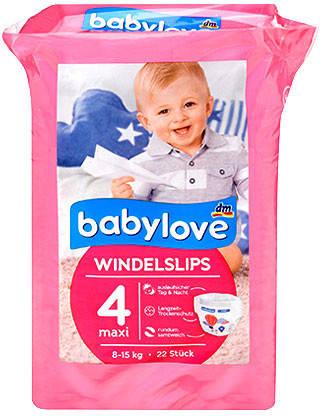Подгузник-трусики Babylove 4 макси 8-15кг 22шт, фото 2