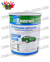 Акриловая эмаль mobihel 1л Сливочно-белая