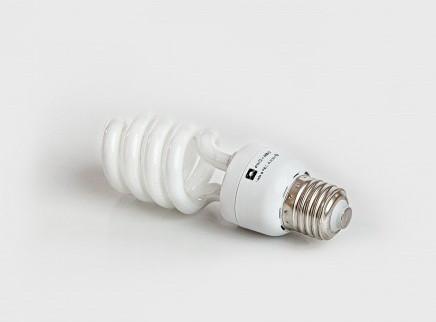 Люминесцентная бытовая лампа (КЛЛ) 15Вт 4200К  Е27
