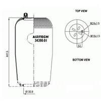 Пневморессора Airtech 34390-01P
