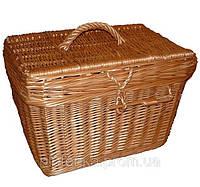 Сундук-короб плетенный из лозы