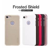 """Чехол Nillkin Frosted для Apple iPhone 7 [4.7""""] Накладка Бампер + Защитная Пленка"""