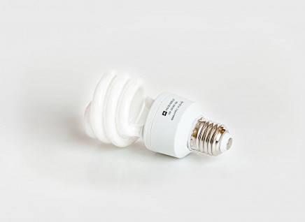 Люминесцентная бытовая лампа (КЛЛ) 20Вт 4200К  Е27