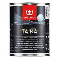 "Лазурь Тиккурила ""Тайка HL"" - Taika HL серебристая лазурь"