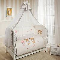 Постельное белье, защиты на кроватку, балдахины
