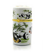 Футляр для зубочисток Панды (8х4х4 см)