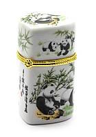Футляр для зубочисток Панды сердечко (8х4,5х4,5 см)