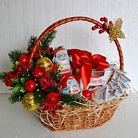 """Новинка! Новогодняя подарочная корзина """"Для самых послушных"""""""