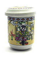 Чашка заварочная с ситом (230мл.) (SFC94) Гейши (h-11см., d-6.5см.)