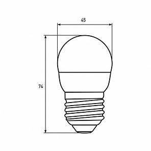 """Промо-набір EUROLAMP LED Лампа ЕКО серія """"Е"""" G45 5W E27 4000K акція 1+1, фото 2"""