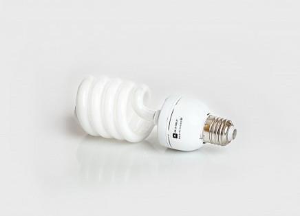 Люминесцентная бытовая лампа (КЛЛ) 25Вт 4200К  Е27