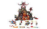"""Конструктор Nexo Knights Bela 10521 """"Вулканическое логово Джестро"""", 1229 дет, фото 2"""